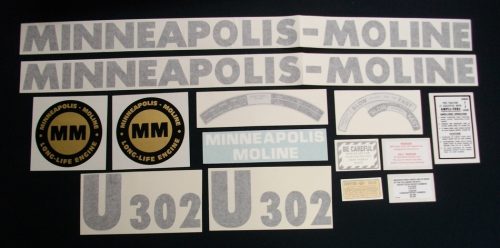 Minneapolis Moline Decals : Minneapolis moline u the decal store