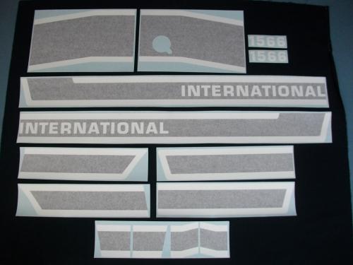 International 1566 Black Stripe The Decal Store
