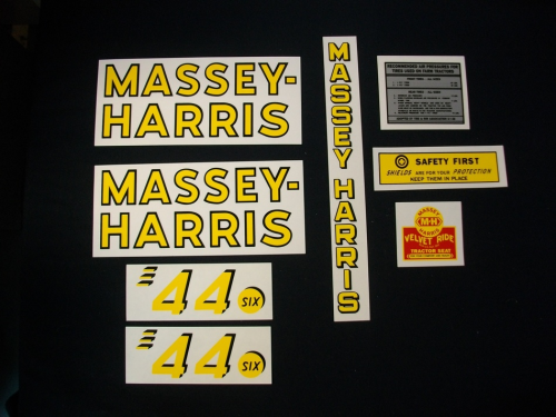 Massey Harris 44 Six