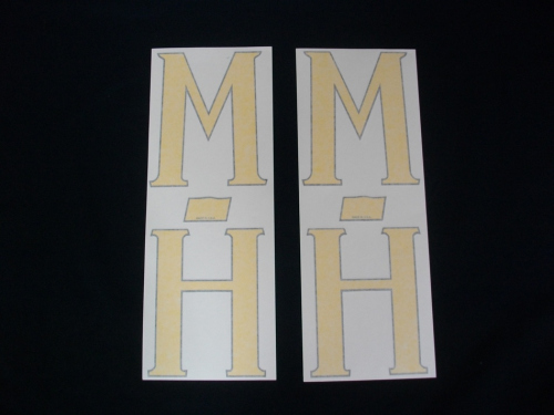 M-H Fender Decal (set of 2)