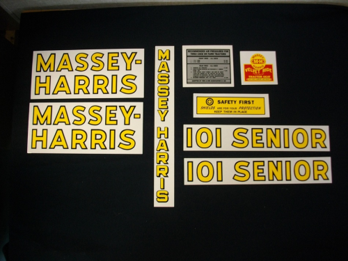 Massey Harris 101 Senior
