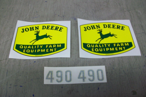 John Deere 490 Corn Planter The Decal Store