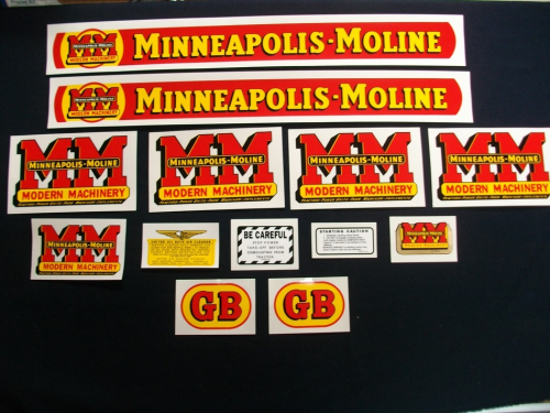 Minneapolis Moline  GB