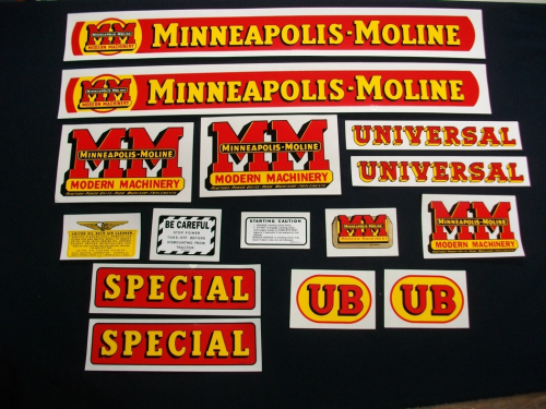 Minneapolis Moline UB Special