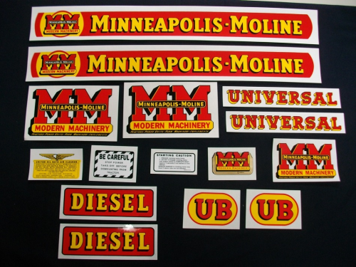 Minneapolis Moline UB Diesel