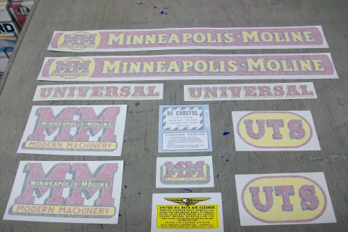 Minneapolis Moline UTS