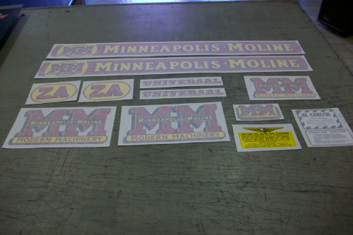 Minneapolis Moline ZA