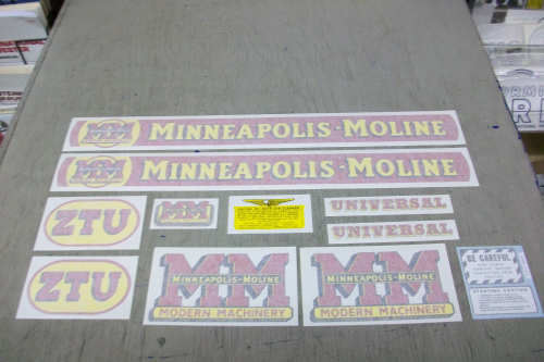 Minneapolis Moline ZTU
