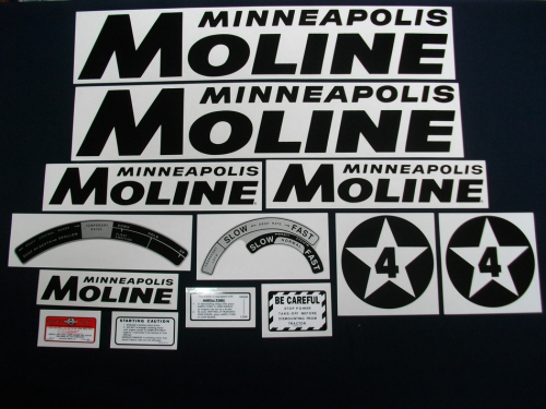 Minneapolis Moline 4 Star