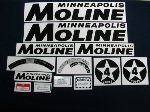 Minneapolis Moline Super 4 Star