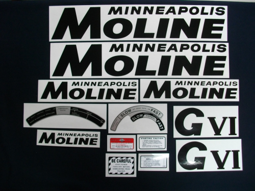 Minneapolis Moline G-VI