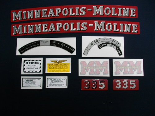 Minneapolis Moline 335