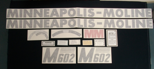 Minneapolis Moline M-602