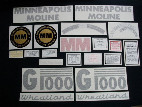 Minneapolis Moline G1000