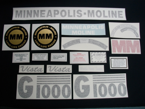 Minneapolis Moline G1000 Vista