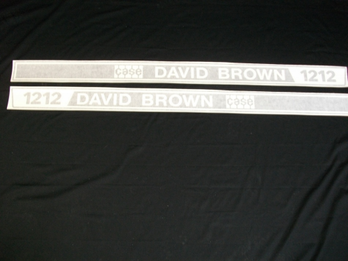 Case David Brown 1212