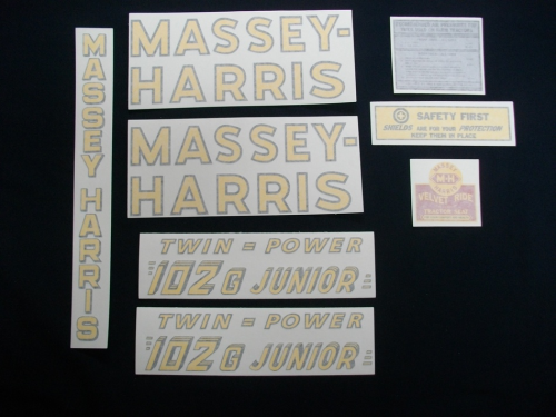 Massey Harris 102 G Junior Twin Power