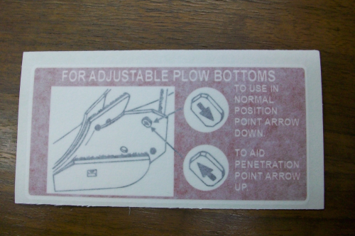 Adjustable plow Bottoms