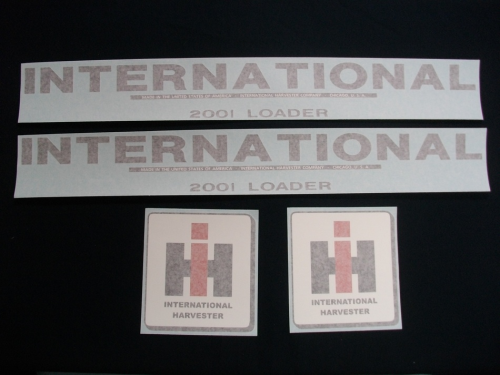 International 2001 Loader