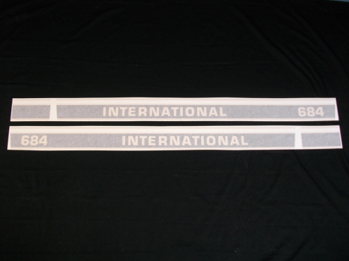 decals international 684 Tractor stickers