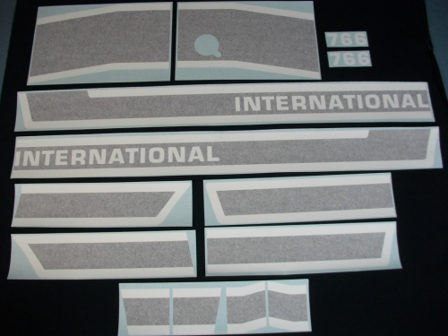 International 766 Black Stripe