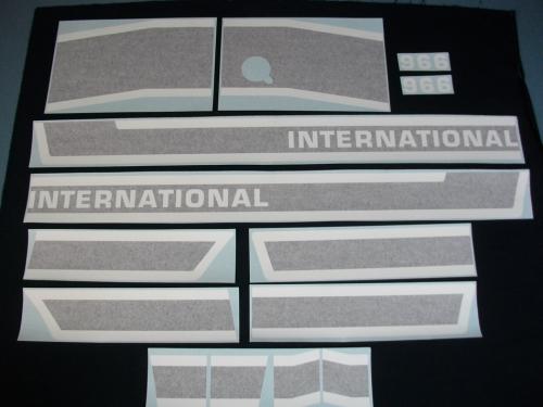 International 966 Black Stripe