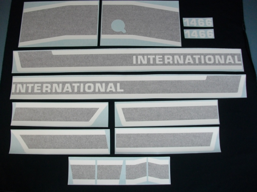 International 1466 Black Stripe