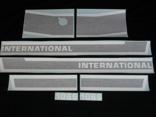 International 1066 Black Stripe