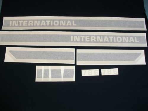 International 786 Black Stripe
