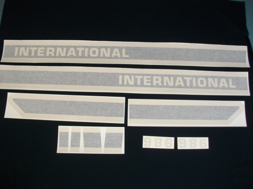 International 986 Black Stripe