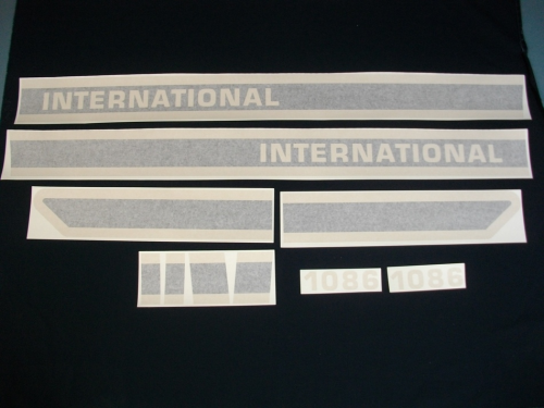 International 1086 Black Stripe