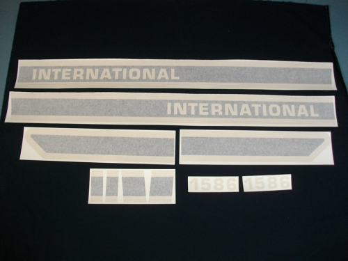 International 1586 Black Stripe