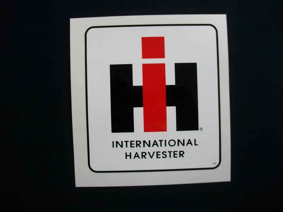 International Harvester Logo Stickers IH Logo - The Decal St...