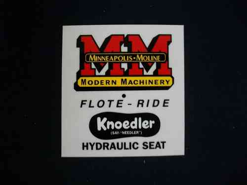 Minneapolis Moline Flote-Ride Seat