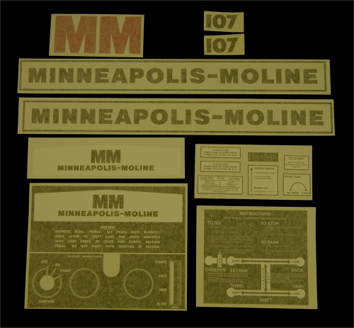 Minneapolis Moline 107