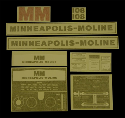 Minneapolis Moline 108