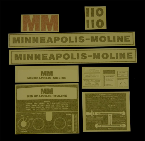 Minneapolis Moline 110