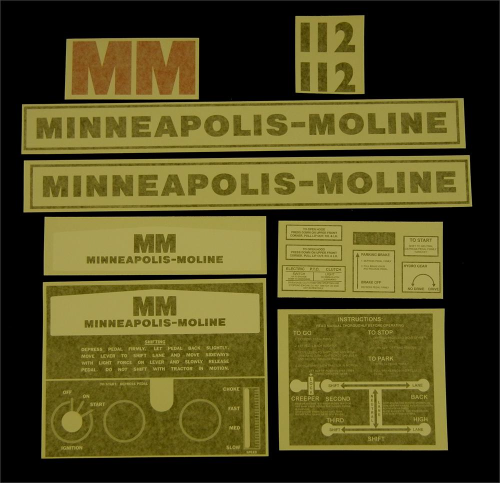 Minneapolis Moline 112