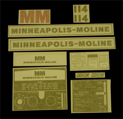 Minneapolis Moline 114
