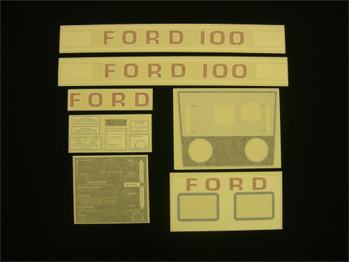 Ford 100 White Hydro