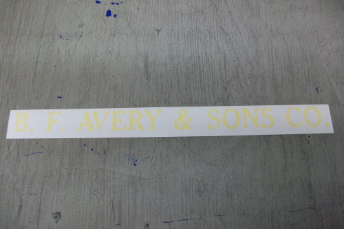 B.F. Avery & Sons