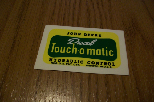 Dual Touch-O-Matic