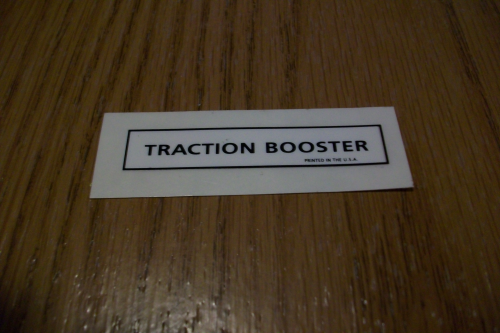 Traction Booster