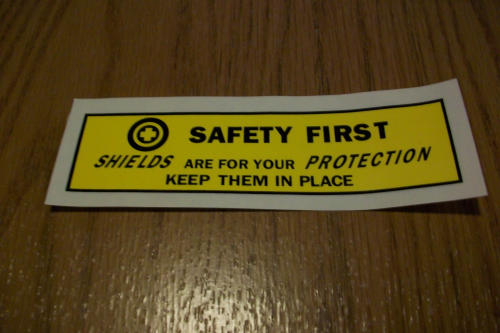 Safety First - Shields
