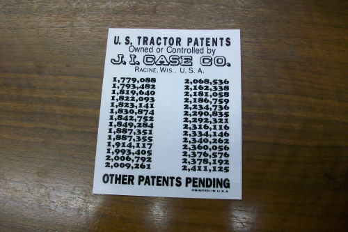 Patent Decal