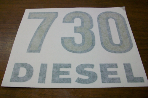 730 Diesel Model Number