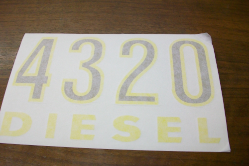 4320 Diesel Model Number