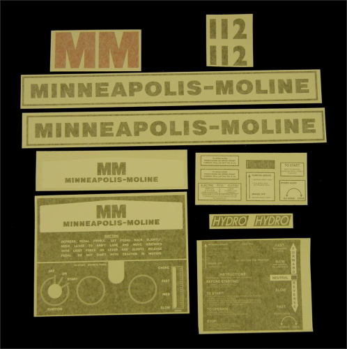 Minneapolis Moline 112 Hydro