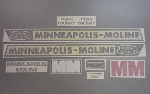 Minneapolis Moline Town & Country