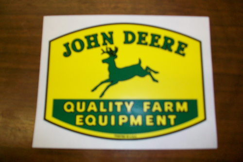 John Deere Quality Farm Equipment Logo